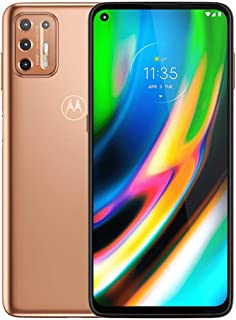 Motorola Moto G9 Plus 128GB, 4GB RAM, XT2087-1, 64MP Camera System, 6.81 inches, LTE Factory Unlocked Smartphone - Interna...