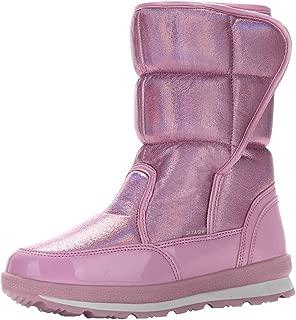 HebeTop Women's Ladies Winter Waterproof Thermal Martin Short Thickened Snow Boots Footwear Warm Shoes