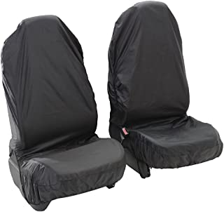 VOLVO V50 04-12 HEAVY DUTY WATERPROOF GREY SINGLE CAR SEAT COVER