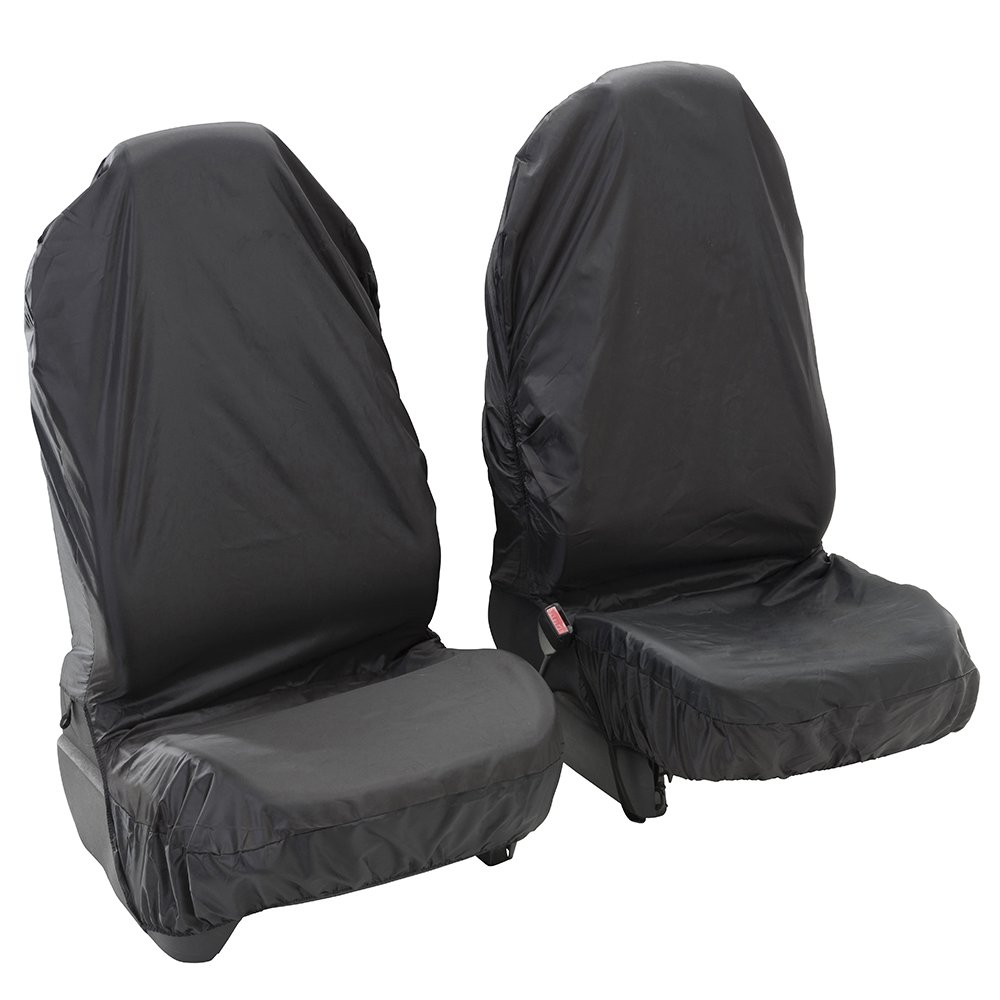 08-16 The Urban Company Seat Covers Front Black Waterproof to fit Citro/ën Nemo