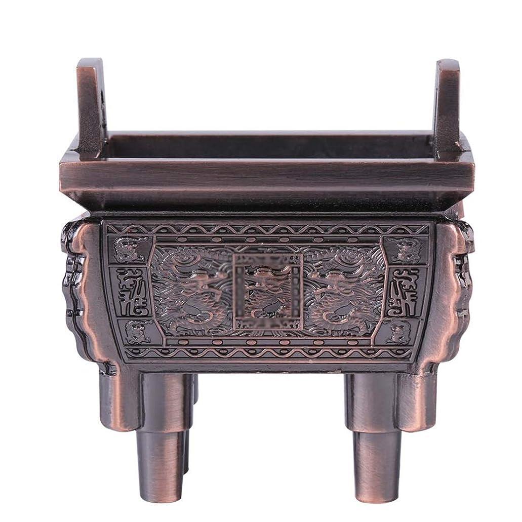 行為生産性大統領ホームアロマバーナー 総本店のホテルの喫茶店の使用のための小型多機能香の棒のバーナーのホールダーのセンサー 芳香器アロマバーナー (Color : Brass)