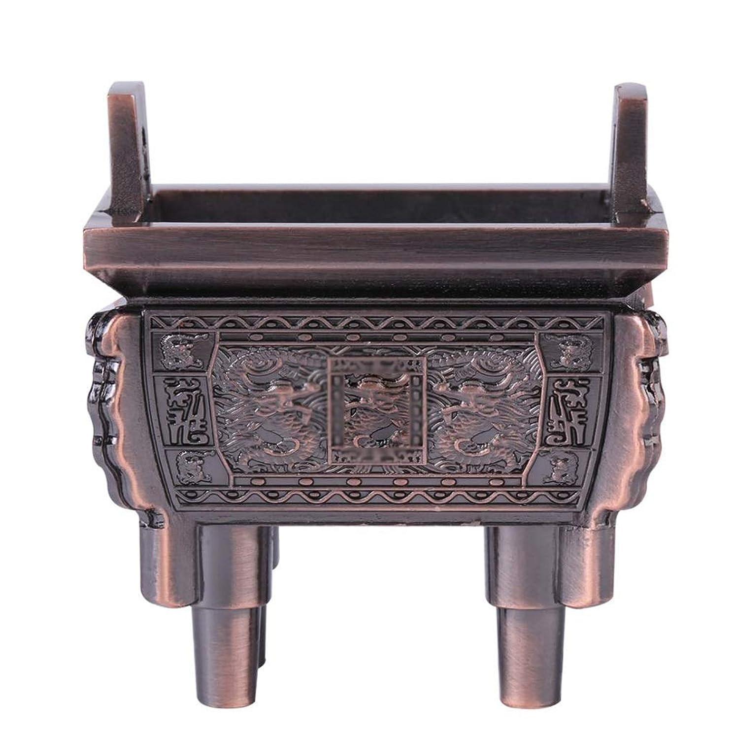 不道徳世紀眩惑する芳香器?アロマバーナー 総本店のホテルの喫茶店の使用のための小型多機能香の棒のバーナーのホールダーのセンサー アロマバーナー芳香器 (Color : Brass)