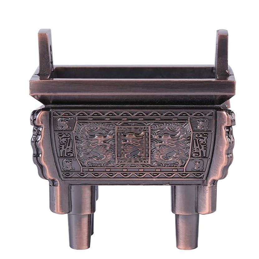 動ドアミラー五ホームアロマバーナー 総本店のホテルの喫茶店の使用のための小型多機能香の棒のバーナーのホールダーのセンサー 芳香器アロマバーナー (Color : Brass)