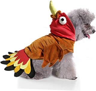 BWOGUE Turkey Dog Costume Thanksgiving Apparel Pet Costume for Dogs and Cats