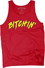 Superluxe Clothing Mens/Unisex Bitchin 80s Wrestling Tank Top