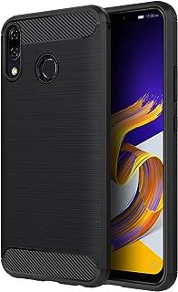 ASUS ZenFone 5 ZE620KL ケース Simpeak ZenFone 5/5Z/ZE620KL/ZS620KL 炭素繊維保護カバー TPUスマホバンパー 軽量 防指紋 脱装簡単 6.2インチ専用