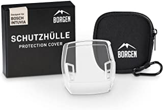 Borgen displaybescherming - geschikt voor Bosch Intuvia-beschermhoes - accessoires voor e-bike-display - 100% transparant,...