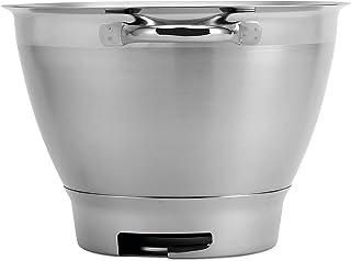 Kenwood KAT521SS Bol à mélanger, Bol en acier inoxydable de 4,6 litres ELITE CHEF SS BOWL, Accessoires pour robot de cuisine