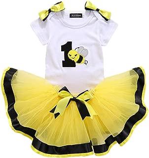 Unisex Kids Swimsuit-Waymine Toddler Sleeveless Cartoon Bee Strap Beach Swimwear Cap Set