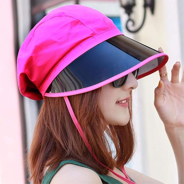 Dianye Hat female summer sun hats riding Female Cap resin visor outdoor beach cap a cap