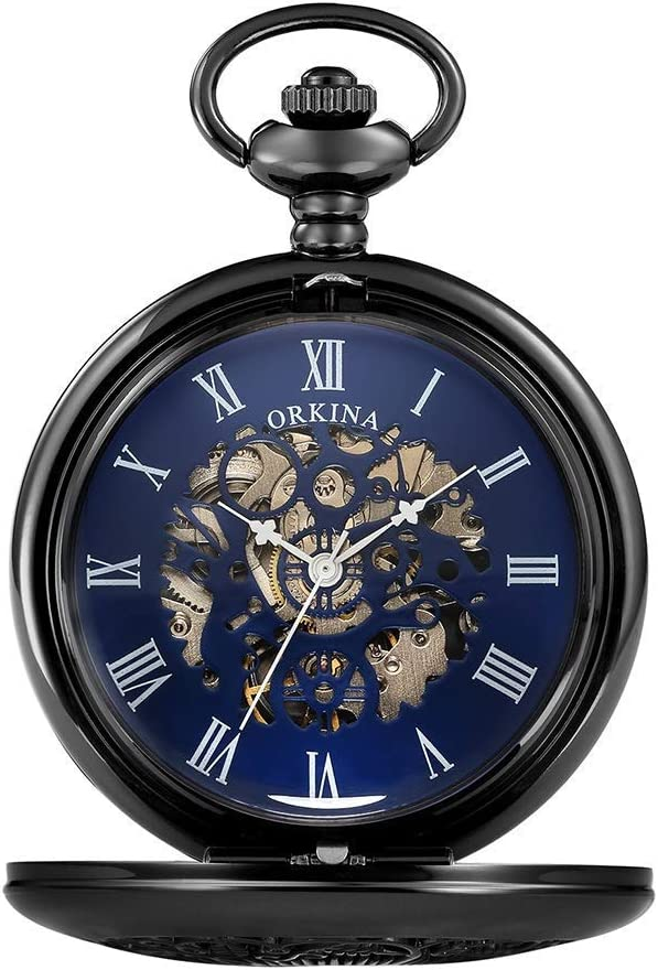 ZHFRC Classic Excellent Stylish Pocket Watch. with Vin Brand Cheap Sale Venue Watch Chain