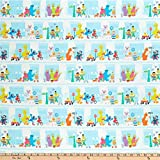 Fabric Fabric & Fabric Exclusive Sesame Street Digital