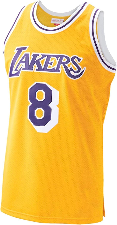 Mens Laker Kobe Purple 1996-97 Hardwood Classics Player Jersey