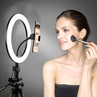 """Trost 10 Inches Big LED Ring Light for Camera, Phone tiktok YouTube Video Shooting and Makeup, Ring Light (10"""" inchs Light)"""
