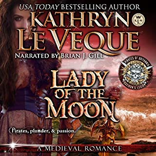 Lady of the Moon                   By:                                                                                                                                 Kathryn Le Veque                               Narrated by:                                                                                                                                 Brian J. Gill                      Length: 3 hrs and 38 mins     15 ratings     Overall 4.3