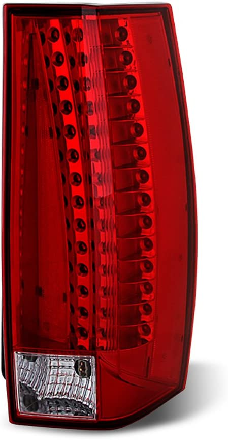 VIPMOTOZ Red Lens OE-Style LED Tail 定番から日本未入荷 優先配送 2007 Assembly Light For Lamp