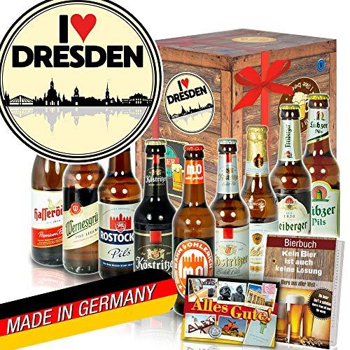 I love Dresden - Geschenke aus Dresden - Biere aus Ostdeutschland