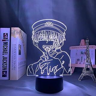 Hanako Kun Lampe 3D à LED pour décoration de chambre, cadeau d'anniversaire, lampe de nuit Hanako Kun