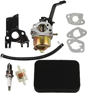HIPA Carburetor + Air Filter Tune Up Kit for Honda EB2200X EB2500X EM1600X EM1800X EM1800XK1 EM2200X EM2500X Generator