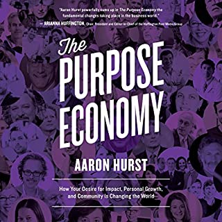 The Purpose Economy audiobook cover art