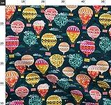 Heißluftballon, Retro, Vintage, Luftballon, Kinderzimmer