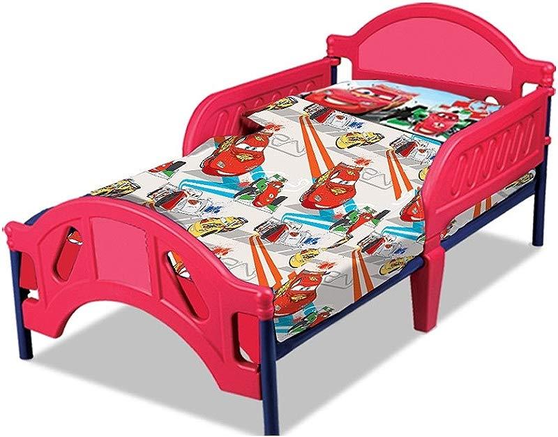 Disney Cars Toddler Sheet Set 2 Piece 28 X 52 Fitted Sheet And Pillowcase Set