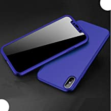 Vivo V11/V11Pro/X21S Case, Very Light Slim 360° Full-Edge Encase Combined 2 In 1 Ultra Hybrid Cover With Glass, WEIFA Newe...
