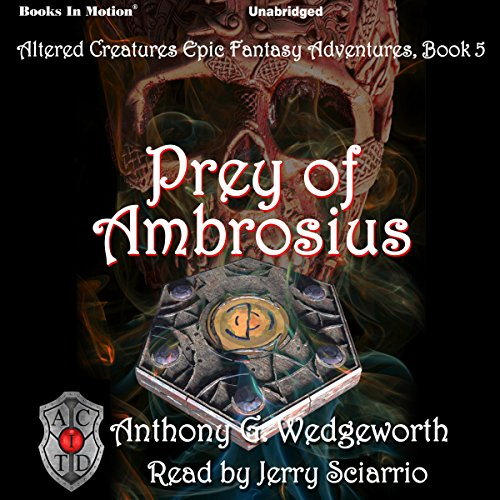 Prey of Ambrosius audiobook cover art