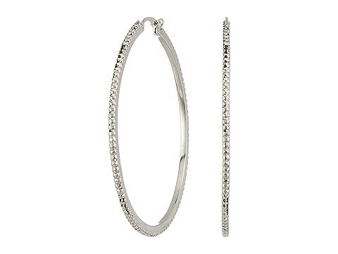 Shinola Detroit Coin Edge Single Hoop Earrings
