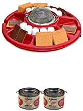 Sterno 70228 Family Fun S'mores Maker and S'mores Heat Value Bundle
