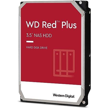 Western Digital ウエスタンデジタル 内蔵 HDD 8TB WD Red Plus NAS RAID (CMR) 3.5インチ WD80EFBX-EC 【国内正規代理店品】