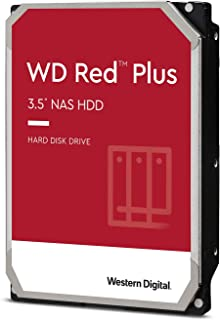 Western Digital HDD 10TB WD Red Plus NAS RAID (CMR) 3.5インチ 内蔵HDD WD101EFAX-EC 【国内正規代理店品】