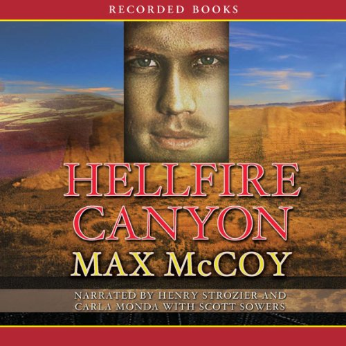 Hellfire Canyon audiobook cover art