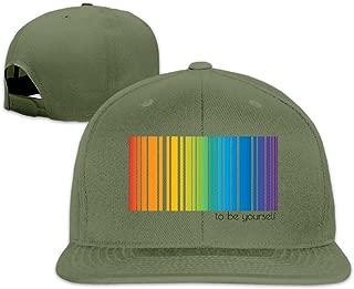 Nbian LGBT Pride Rainbow Hat