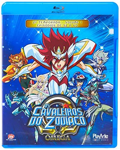 Os Cavaleiros Do Zodíaco - Ômega – 2ª Temporada - Volume 1 - [Blu-ray]
