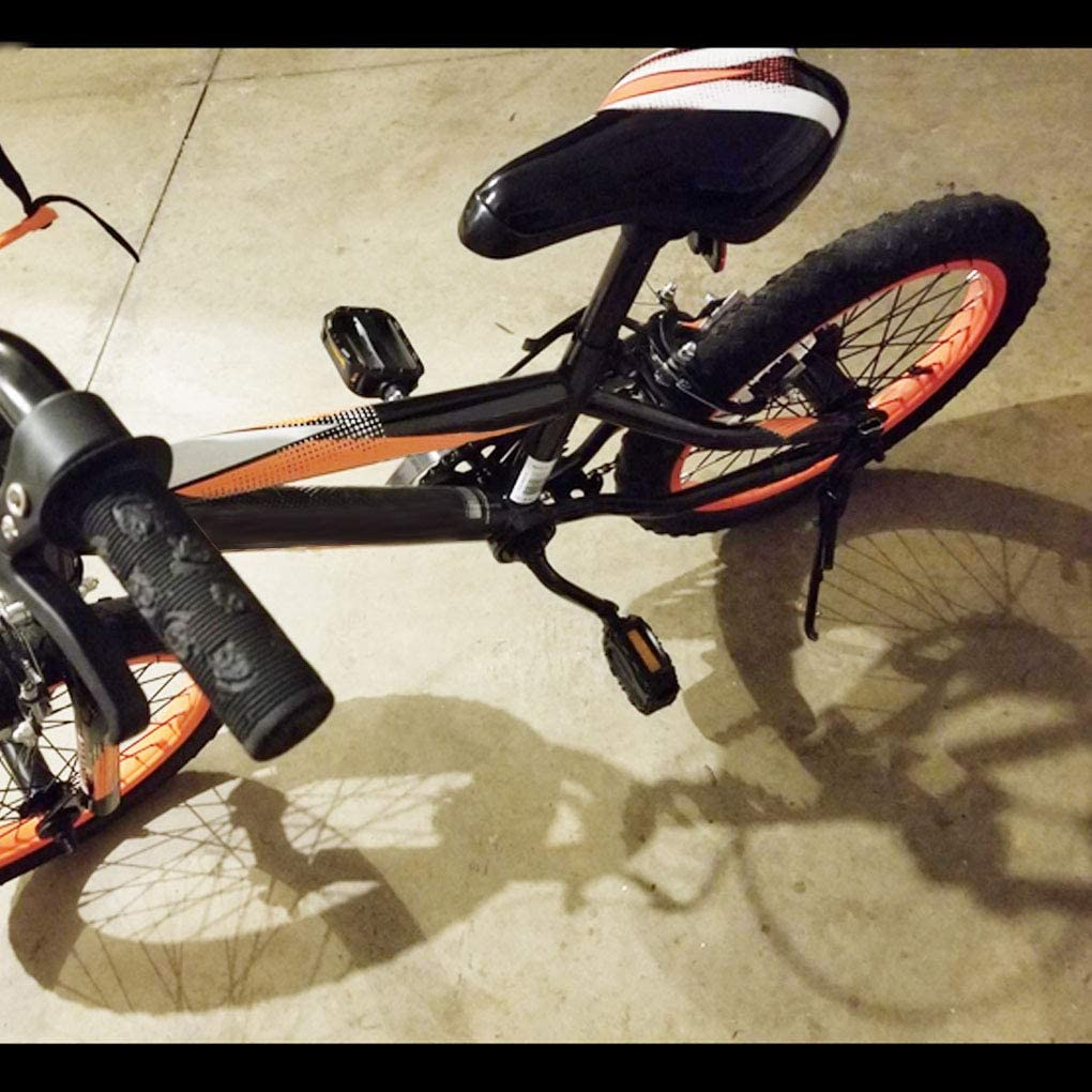 UPTOYO Kickstand for Kids Bike Childrens Bicycle Kickstand for 1214161820 Kids Bike Single-Side Stand Kids Bicycle Support Stand Kids Bike Kickstand Child Kickstand