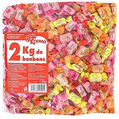 2 kg de KRÉMA aux fruits