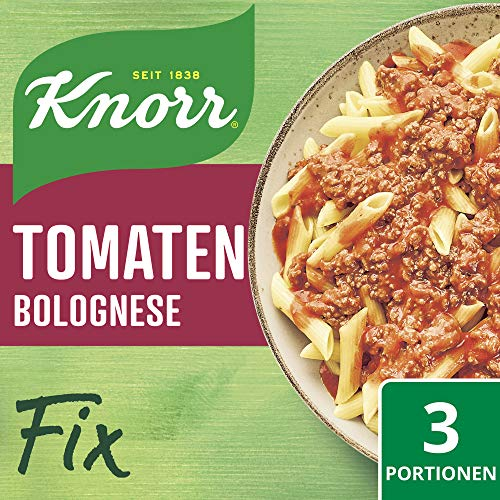 Knorr Fix Würzbasis Tomaten Bolognese, 3 Portionen, 46g