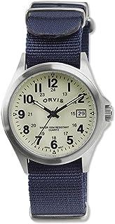Orvis Men's Canaan Grosgrain Band Watch