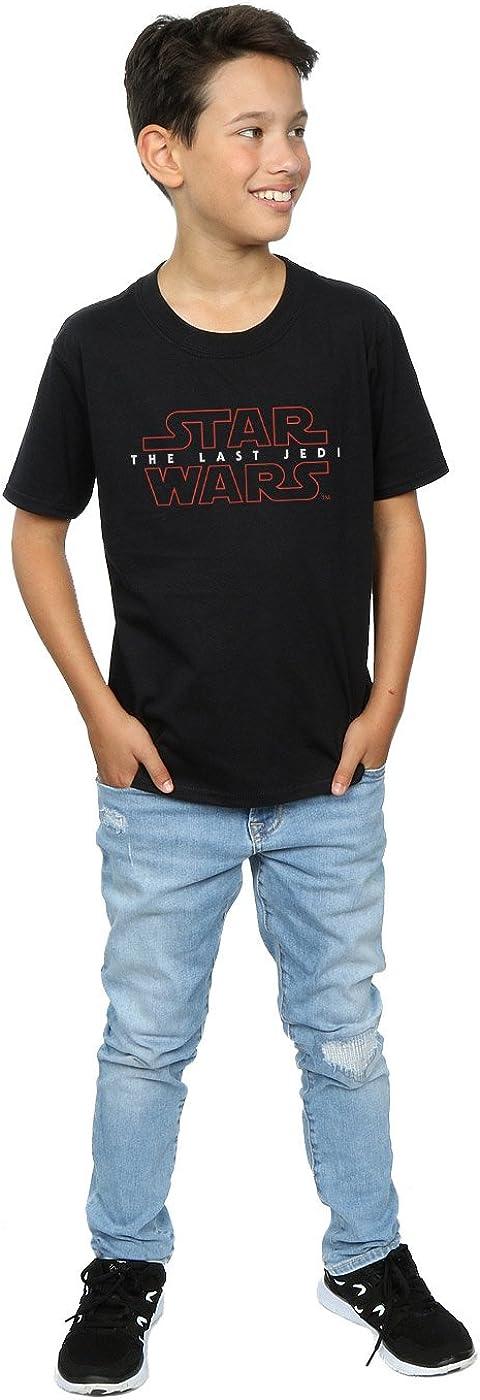 STAR WARS Boys The Last Jedi Logo T-Shirt 12-13 Years Black