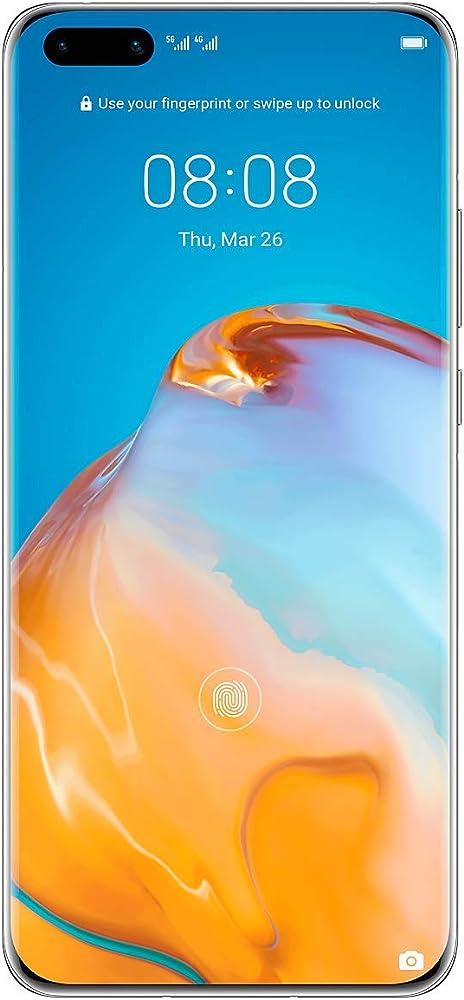 Huawei p40 pro - smartphone 256gb, 8gb ram, dual sim ELS-NX9