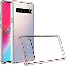 SaharaCase-Crystal Series Case Shockproof Military Grade Drop Tested Samsung Galaxy S10 5G Clear Rose Gold