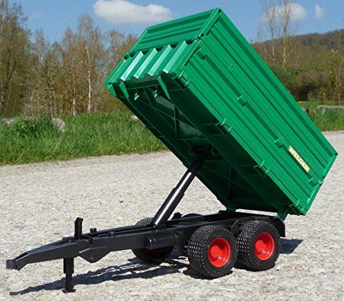 RC Auto kaufen Traktor Bild 6: WIM-SHOP RC Traktor CLAAS Axion 870 Anhänger in XL Länge 72cm Ferngesteuert*