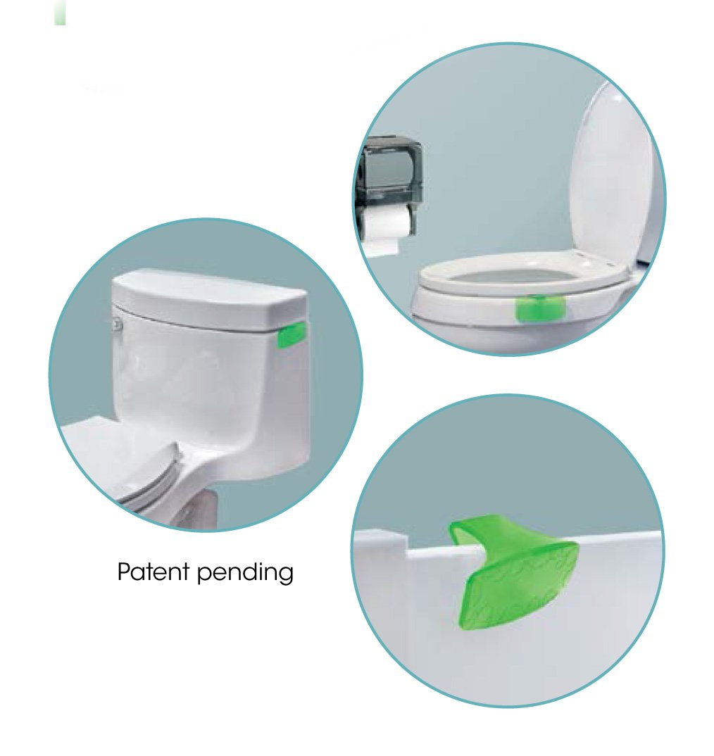 Fresh Products Toilet Bowl Eco Bowl Clip 2.0 Air Freshener - Herbal Mint (4 Clips)