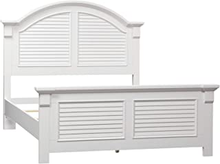 Liberty Furniture Industries Summer House I Panel Bed, King, Oyster White