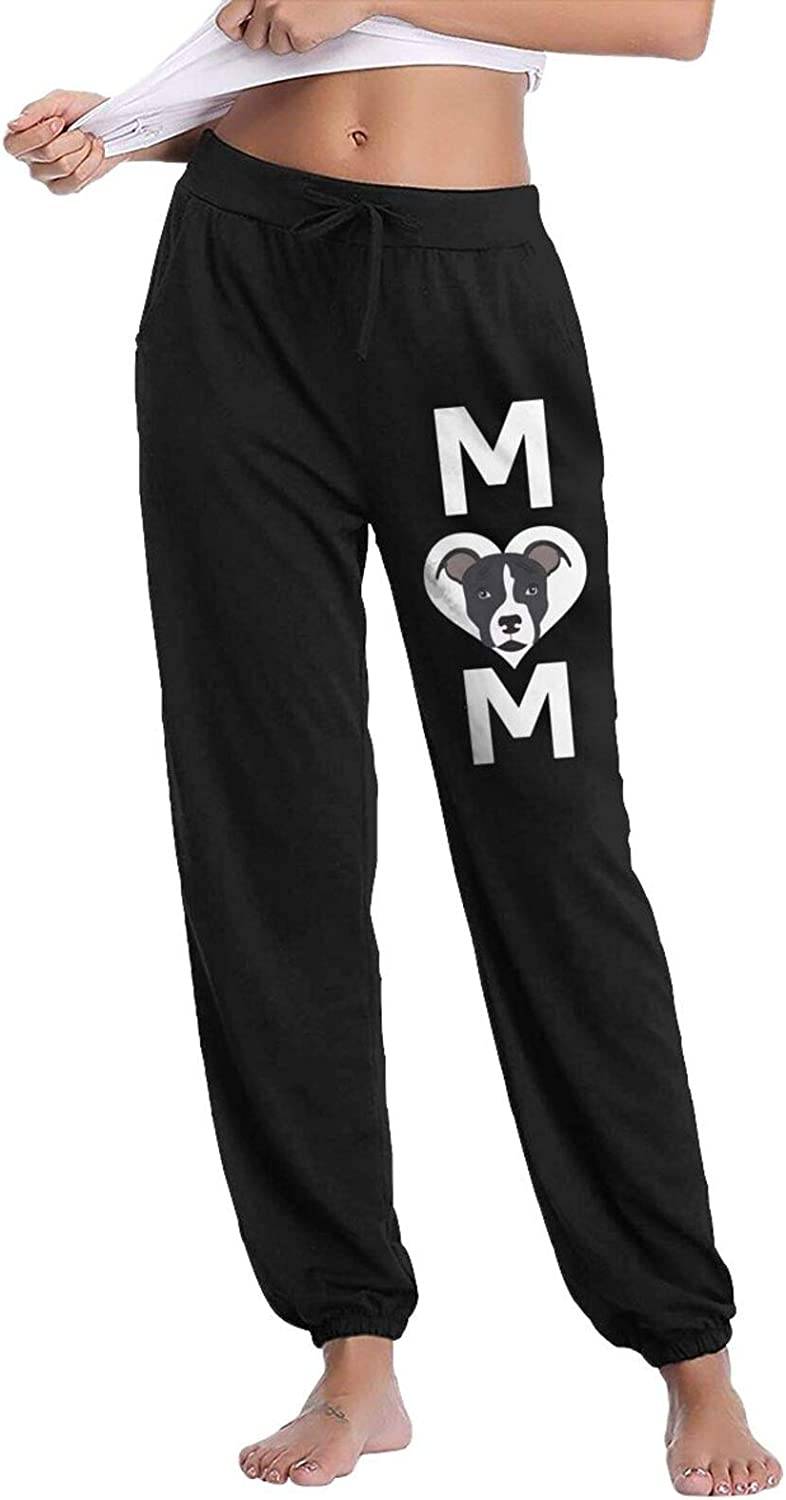 Store HRiu66@ Lounge Pants for Women Casual Max 54% OFF Long Pitbull S Mom Cotton