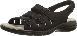 Women's Saylie Quartz Sandal, Black Nubuck, 6.5