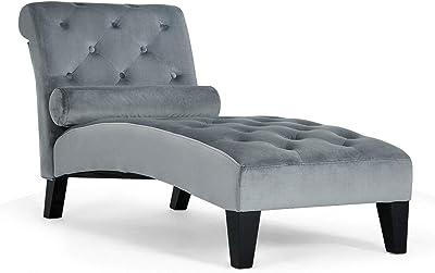 Amazon Com Monarch Specialties Reclining Sofa In White