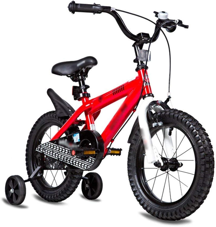 barato Bicicletas para para para Niños Tamaño opcional 12 pulgadas 14 pulgadas 16 pulgadas 18 pulgadas 20 pulgadas Material de projoección ambiental 6 Colors Opcionales (Color  Rojo, Tamaño  14 pulgadas)  Tu satisfacción es nuestro objetivo