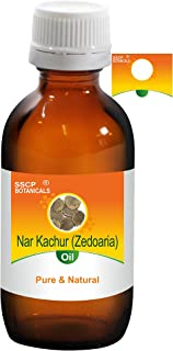 SSCP Botanicals Nar Kachur (Zedoaria) Pure & Natural Essential Oil (Curcuma Zedoaria) (1000 ml (33.80 Oz) Aluminium Bottle)